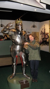 Here I am with Richard at Bosworth. Don't we make a lovely couple?